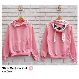 HR - 0118 - Outwear Jaket atau Sweater Stich Cartoon