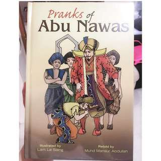 4 hardcover books of Abu Nawas