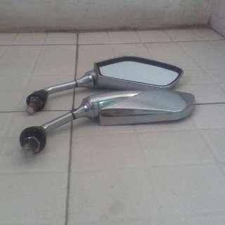 Spion Chrome sepeda motot
