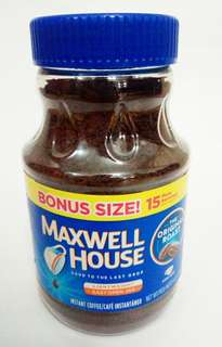 Maxwell House Instant Coffee 255 grams
