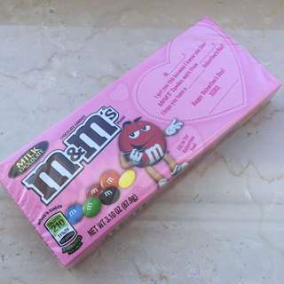 M&M milk chocolate (Valentine's day special)