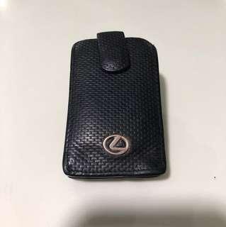Braun Buffel Key Holder / Pouch For Lexus