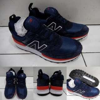 Sepatu Kets Sneakers New Balance 574 NB574 Fresh Foam Darkblue Biru