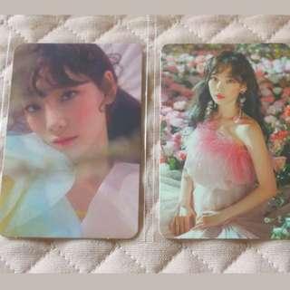[PO] SNSD Taeyeon SMTOWN COEX ARTIUM <MY VOICE> photocard