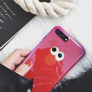 iPhone X 📱 case 手機殻  Elmo 紅色