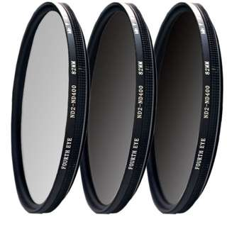 ND filter 82mm (adjustable ND2 to ND400)