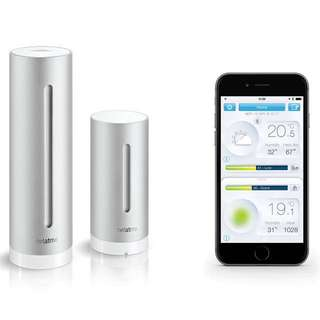 🏠 Netatmo Smart Personal Weather Station - Indoor & Outdoor modules for temperature, air quality, pressure, etc. Keep a smart & healthy home.