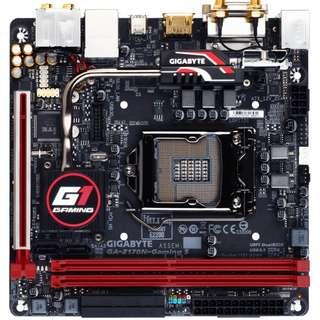 Intel i5-6600K + Gigabyte Z170N-Gaming 5