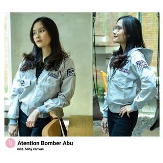 HR - 0118 - Outwear Jaket Attension Bomber
