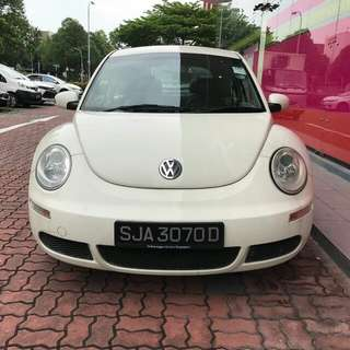 Volkswagen Beetle 1.6L(A) Year 2008
