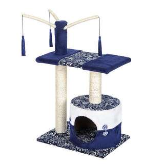 Japanese Inspired Cat TreeHouse