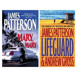 Set of 2 James Patterson Books