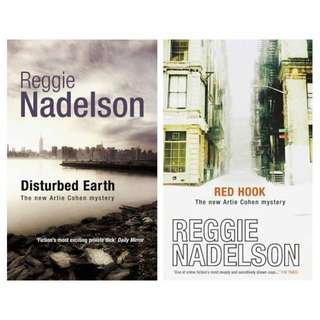 🚚 Set of 2 Reggie Nadelson Books
