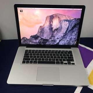 "NEW Battery MacBook Pro 15"" i5 w Adobe & Microsoft office installed"