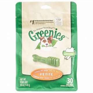 SOLD OUT - Greenies Petite Dental Chews 6oz
