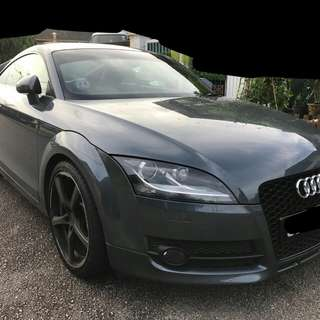 "Audi TT 2.0L  Year 2008 18"" Rims Superb"