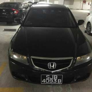 Honda Accord Euro 2.0L(A) Year 2007/08