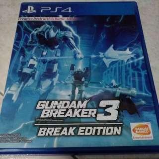 PS4 - Gundam Breaker 3: Break Edition