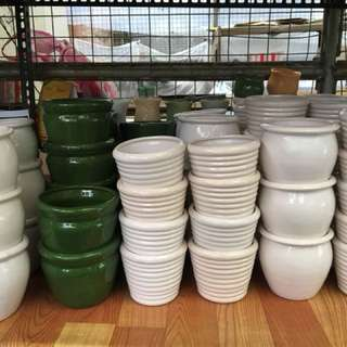 BIG CERAMIC POTS