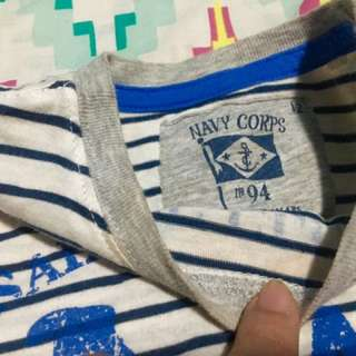 Nautical Cotton Shirt