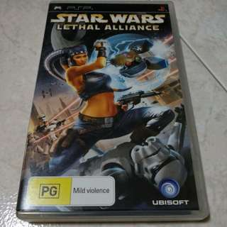 PSP - Star Wars: Lethal Alliance
