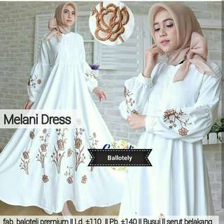 MLA - 0118 - Dress Busana Muslim Melani