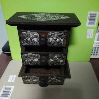 Mini drawers thai traditional craft