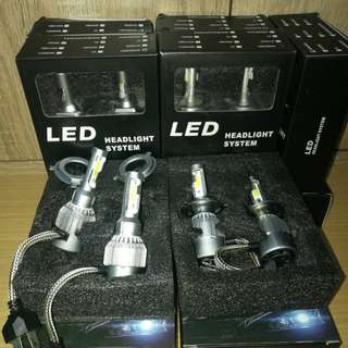 LED Headlamp H4 White 36watt 6000k