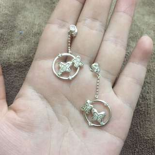 follifollie 925 earring 銀耳環