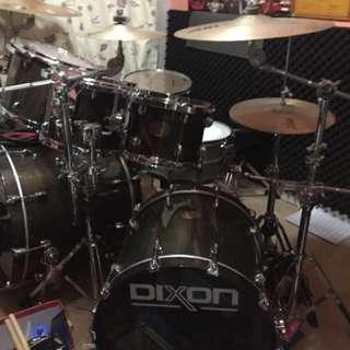 Dixon 25th 爵士鼓