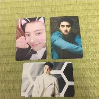 WTS/WTT Exo photocards