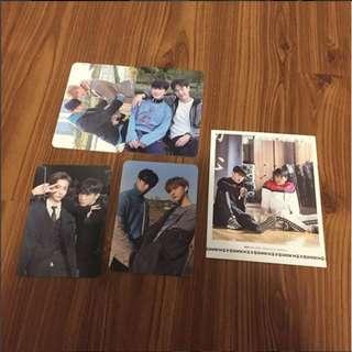 WTT/WTS Monsta X Code photocards