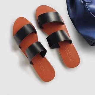 Felicia Black Sandals