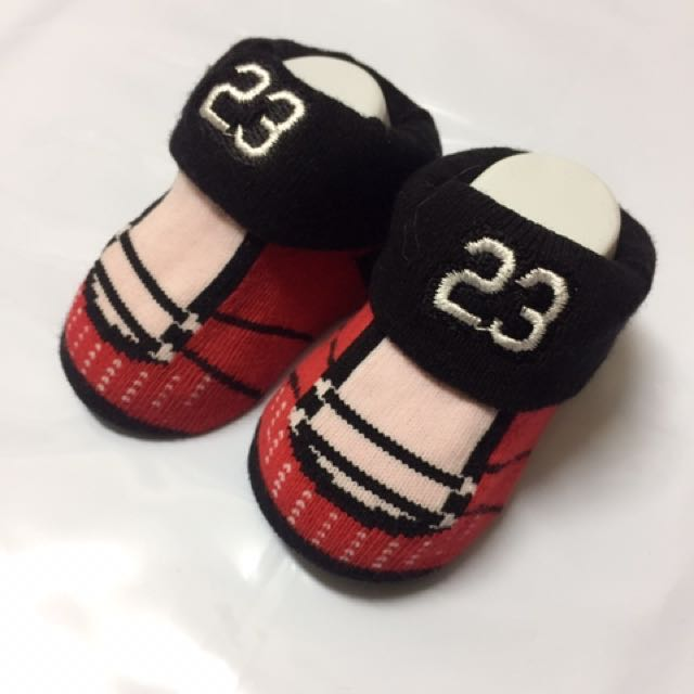 飛人寶寶0-3個月襪子
