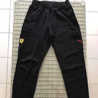 🎉reduced🎉 BN Puma 💯% Authentic Ferrari sweatpants for SGD$45 (size XS)