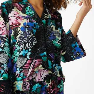 MONKI BUTTON UP BLOUSE