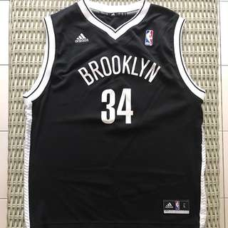 🎉reduced🎉 Adidas 💯% Authentic alternate Brooklyn Nets jersey for SGD$20 (size youth L)