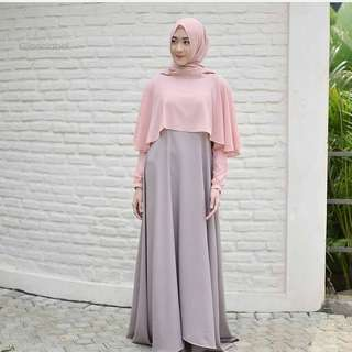 MLA - 0118 - Dress Busana Muslim Swing