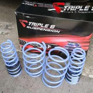 Triple S Lowering Spring for Toyota Wish ZNE10