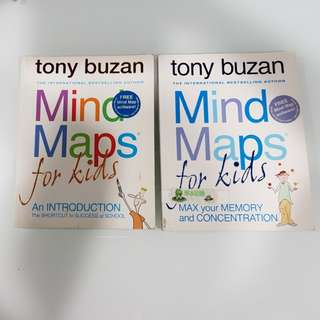 Tony Buzan - Mind Msps fir Kids