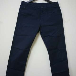 Calvin Klein CK 修身長褲