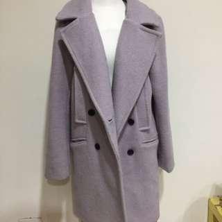 薰衣草紫大衣