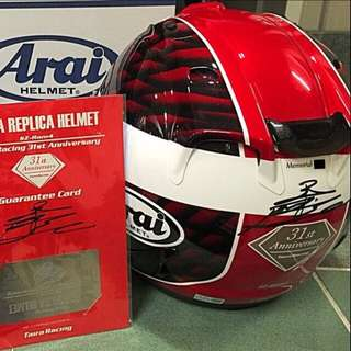 ARAI TIARA Red Limited Edition!!!!