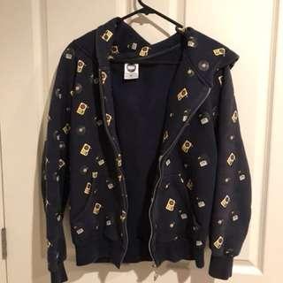 Banc zip up hoodie