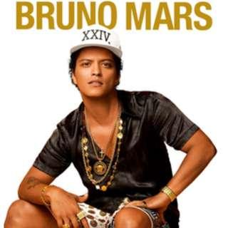 Bruno Mars Sydney 18th March