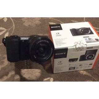 Sony Alpha a5100 Camera with kit lens 16-50 mm