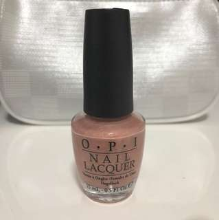 OPI A butterfly moment Mariah Carey collection full size light pink ish metrallic shade 15ml authentic used once