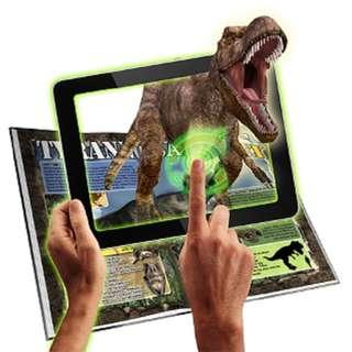 DINOSAURS 3D Interactive Book with Augmented Reality App