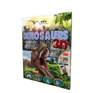 DINOSAURS 3D Interactive Book with Augmented Reality App from UK