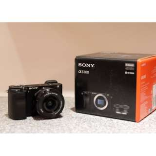 Sony Alpha a6300 Camera with lens 16-50mm